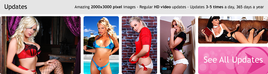 Updates - Amazing 2000x3000 pixel images - Regular HD video updates - Updates 3-5 times a day, 365 days a year.